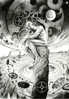 Dr. Manhattan by David Hitchcock