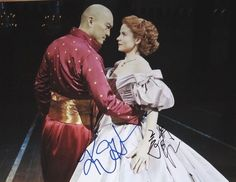 Ken Watanabe & Kelli O'Hara signed The King & I - This one is framed and hanging on my wall in honor of my trip to NY to see The King and I!