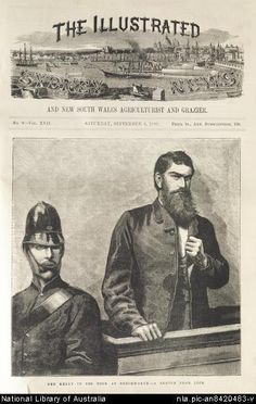 Kelly in the Dock engraving