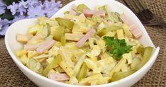 W niedzielne południe polecam przepis na pyszną sałatkę z szynką, ogórkami i żółtym serem. Jej przygotowanie zajmuje zaledwie kilka chwil, a...