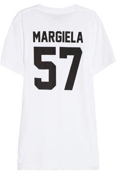 LPD New York Team Margiela printed cotton-jersey T-shirt NET-A-PORTER.COM