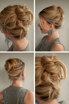 30 Days of Twist & Pin Hairstyles – Day 22 by cynthia