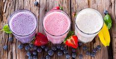 Shakes aus frischen Früchten - Rezept-Tipp - Wer morgens nicht in Fahrt kommt, braucht einen Energieschub. Die TK kennt Rezepte.