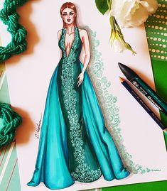 Dress Design Sketches, Fashion Design Sketchbook, Fashion Design Drawings, Fashion Sketches, Dress Design Drawing, Fashion Drawing Dresses, Fashion Illustration Dresses, Dress Illustration, Fashion Dresses
