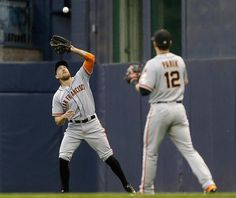 Hunter Pence, #12 Joe Panik