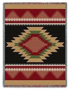 Southwest Indian Navajo Design Teec POS Tapestry Throw Afghan Blanket   eBay