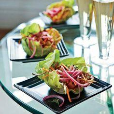 Bibb #Lettuce with #Warm #Vegetable #Vinaigrette All #Yummy #Recipes