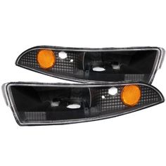 Anzo USA 511045 Chevrolet Camaro Black Bumper Light Assembly with Amber Reflector - (Sold in Pairs) - http://musclecarheaven.net/?product=anzo-usa-511045-chevrolet-camaro-black-bumper-light-assembly-with-amber-reflector-sold-in-pairs