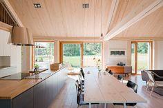 House Åkerudden by MNy Arkitekter, contemporary timber architecture, modern…