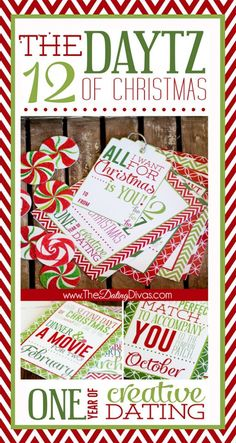 The perfect easy, cheap, and romantic Christmas gift!!! JUST PRINT and you are GOOD TO GO!
