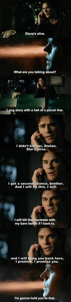 The Vampire Diaries TVD 7X13 - Damon and Stefan