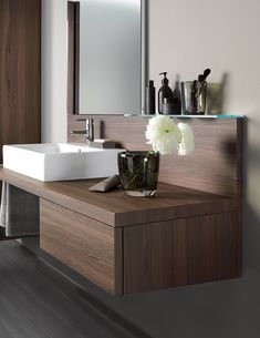 Duravit Delos Brushed Walnut 565 X 600mm Floor Cabinet