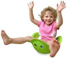 Bilbo- Such a fun vestibular toy- also gross motor, balance, imagination. Baby Toys, Kids Toys, Toddler Toys, Gross Motor Skills, Sensory Toys, Sensory Diet, Sensory Motor, Educational Toys, Cool Toys
