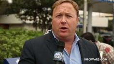 Alex Jones Attacked By Zombies!, via YouTube.
