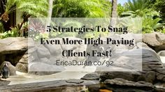 [Ep 92] 5 Strategies To Snag Even More High-Paying Clients Fast! with Erica Duran