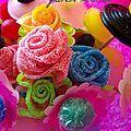 bouquet de fleurs en bonbons (tuto) {DIY} - Prunille fait son show...