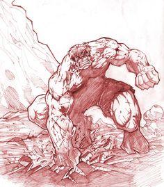 #Hulk #Fan #Art. (The Hulk) By: A-Farsy. (THE * 5 * STÅR * ÅWARD * OF: * AW YEAH, IT'S MAJOR ÅWESOMENESS!!!™) ÅÅÅ+