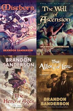 Mistborn by Brandon Sanderson | The 51 Best Fantasy Series Ever Written