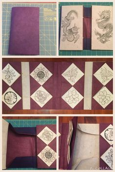 Chinese Thread Book Part 2:  Further Instructions and Dragon Books Thanks to someone who saw my first post on thread books, I was able to get an email address for Ruth Smith  (eruthsmith@btinternet...