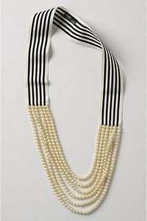 Anthropologie necklace I fell in love with! Found a cheaper version at Old Navy :)