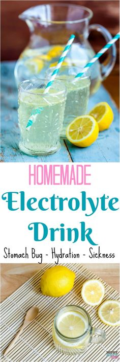Natural Remedies For Flu Homemade Electrolyte Drink recipe for sickness, hydration, stomach bug, food poisoning. This natural remedy works and is So easy to make. detox drinks for stomach Easy Drink Recipes, Detox Recipes, Health Recipes, Summer Recipes, Detox Drinks, Healthy Drinks, Eat Healthy, Yummy Drinks, Healthy Snacks