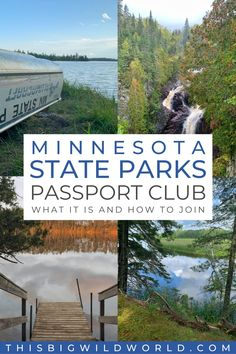 Looking for new trails to explore in Minnesota? Join the Minnesota State Parks Passport Club! Earn stamps at each of the 75 state parks, discover new trails, and even earn free camping along the way. Find out more about the passport club and how to join! minnesota state parks checklist | minnesota state parks hiking | best minnesota state parks | mn state parks