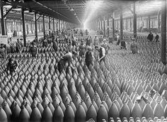Chilwell munitions factory, WW1