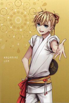 Len Kagamine in Kimono - Vocaloid Hatsune Miku, Len Y Rin, Kagamine Rin And Len, Vocaloid Characters, Mikuo, Poses References, Kawaii, Manga Boy, Cute Anime Guys
