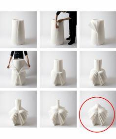 Cabbage Chair Transformation, c. 2008 Japan.  Nendo Design Group