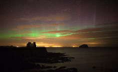 aura borealis over north Berwick. Wow so close to me!!
