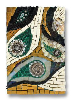 'Paisley' Artist Sandi Watson-  2014 International Mosaic Auction benefit for Doctors Without Borders / Médecins Sans Frontières (MSF) will be held online at BiddingForGood.com/DWB-MSF - Auction opens November 22 – Auction closes December 6