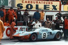 Ford GT40 #9 - Le Mans 1968