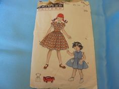 Vintage 1950s Sewing Pattern BUTTERICK 6205 by AngieFoundit4U