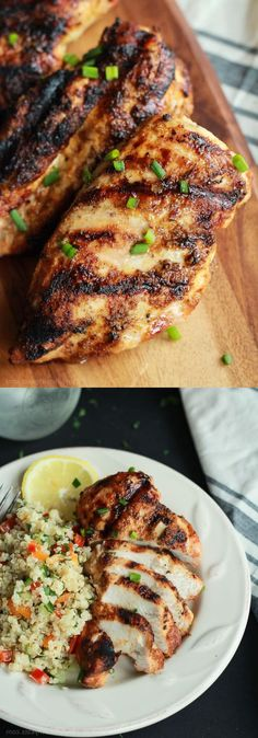 Food Recipes Grilled Chicken with Spice Rub – Eat Top Recipes, Simple Recipes, Real Food Recipes, Delicious Food, Tasty, Recipe Sheets, Broccoli Cauliflower, Spice Rub, Best Dishes