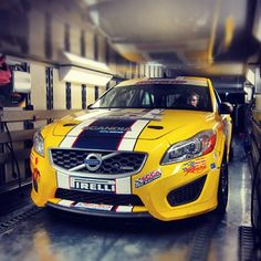 The @kpaxracing team packs up the K-PAX #Volvo C30 as it leaves the set of the Born 2 Race 2 #movie and heads to #Laguna for their next #race! - taken by @volvocarsus - via http://instagramm.in