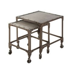 Steel Caster Nesting Tables
