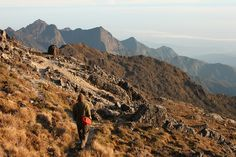 Papua New Guinea - The craggy ridges of the Bismarck Range culminate with the windscoured peak of Mt Wilhelm, the tallest mountain in Oceania. A predawn start  has trekkers clambering up its rocky slopes. If this isn't challenging enough, rugged types might want to measure their mettle against the infamous Black Cat Trail.