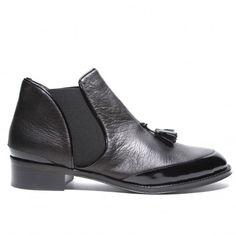 proenza schouler - black flat ankle boot