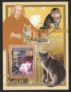 Katte Miniark 2009 Guinea Frimærke Postfrisk