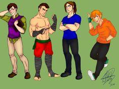 It's ninja time (redraw) by FoxyLady300.deviantart.com on @deviantART