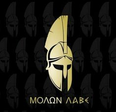 """""""We are in a RED ALERT status in Virginia. Rumor is Antifa is coming into town on January when we go to Richmond. Out-of-state militias are also coming. This is setting up to be another Charlottesville situation. If the spark is lit. Spartan Logo, Spartan Tattoo, Spartan Warrior, Spartan Helmet, Spartanischer Helm, Molon Labe, Greek History, Ancient Greece, Roman Empire"""