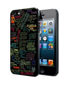 one direction song Samsung Galaxy S3 S4 S5 Note 3 Case, Iphone 4 4S 5 5S 5C Case, Ipod Touch 4 5 Case