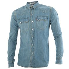 Sawtooth Western Denim Shirt