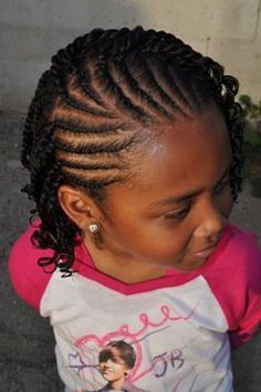 Hairstyles For Black Little Girls 1braided ballerina bun Find This Pin And More On Hairstyles For Black Girls By Sherrille3