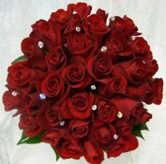 more red rose bouquets