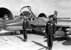 Captains of the Vietnamese Air Force (VNAF) stand in front of their Cessna A-37 Dragonfly aircraft, 1971.