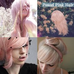 I want to dye my hair cotton candy pink.