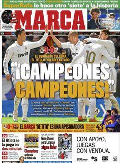 La portada del 30 de abril de 2012