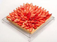Tarte aux fraises simple, bonne et jolie (parfaite, quoi!) - Et si c'était bon...