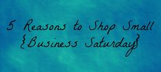 5 Reason to Shop Small Business Saturday. these are great ideas to consider when you think about your marketing for SBS Types Of Customer Service, Holiday Boutique, Small Business Saturday, Support Small Business, Shop Local, Small Business Marketing, New Tricks, Scentsy, Display Ideas